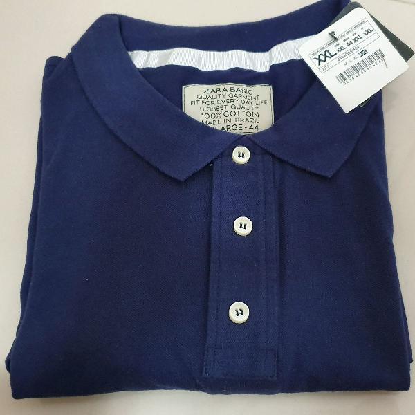 Blusa polo zara nova com etiqueta