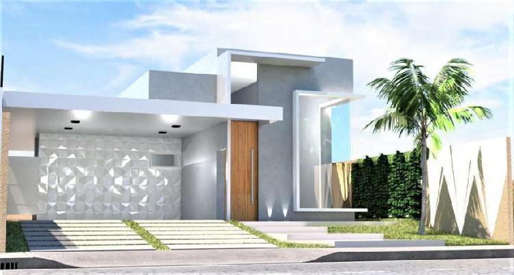 Casa em condomínio alto padrão com conforto, segurança e