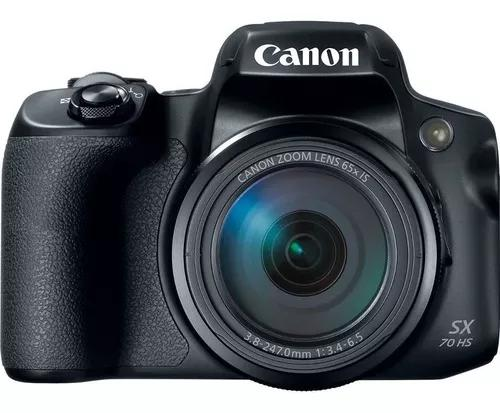 Câmera canon powershot sx70 hs 4k