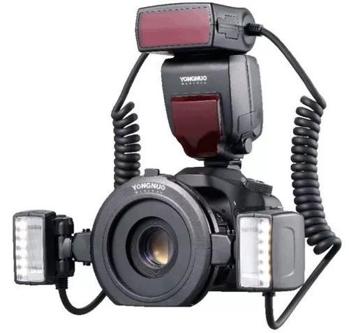 Flash twin yongnuo yn-24ex - canon garantia s