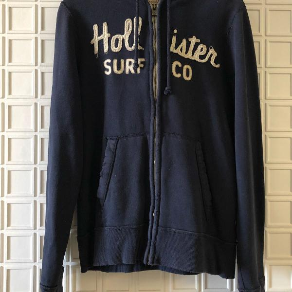 Hollister - blusa de moletom masculina original