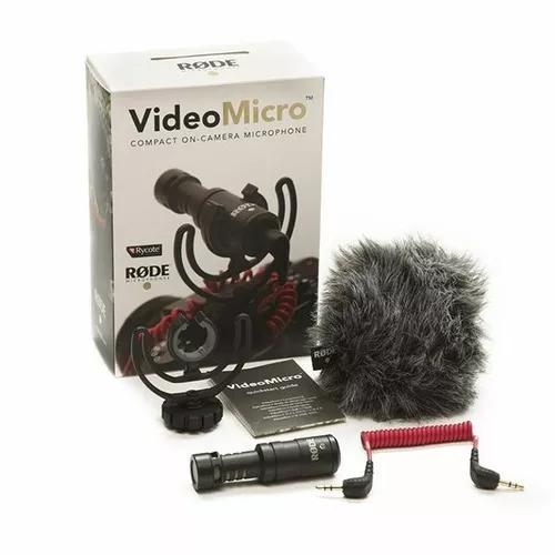 Microfone rode videomicro - microfone direcional compacto