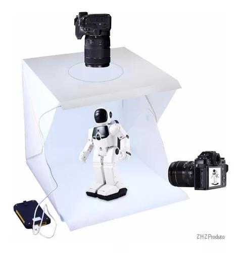 Mini estudio photo box estúdio 40cm studio box tenda