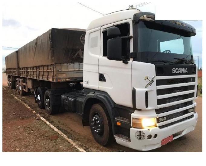 Scania 124 g 360 engatado bitrem noma 2011 parcelado.