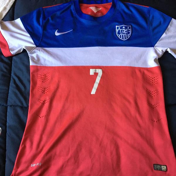 Camisa seleção dos estados unidos 2014