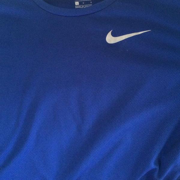 Camiseta nike azul dri fit g
