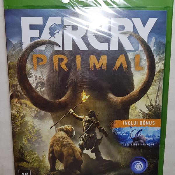 Far cry primal para xbox one - nunca utilizado
