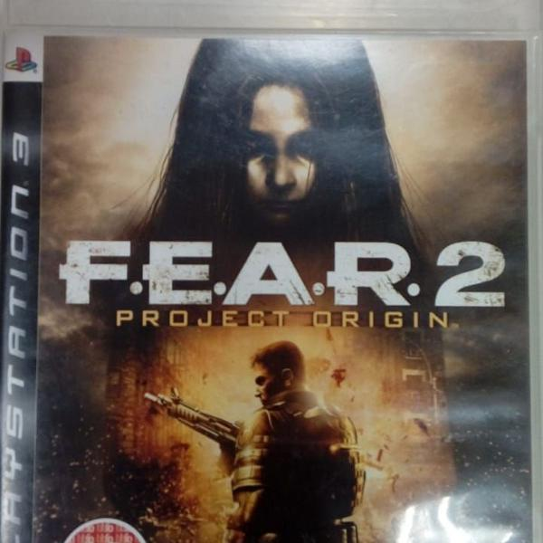 Games jogos usados play 3 ps3 fear 2 lote#5a
