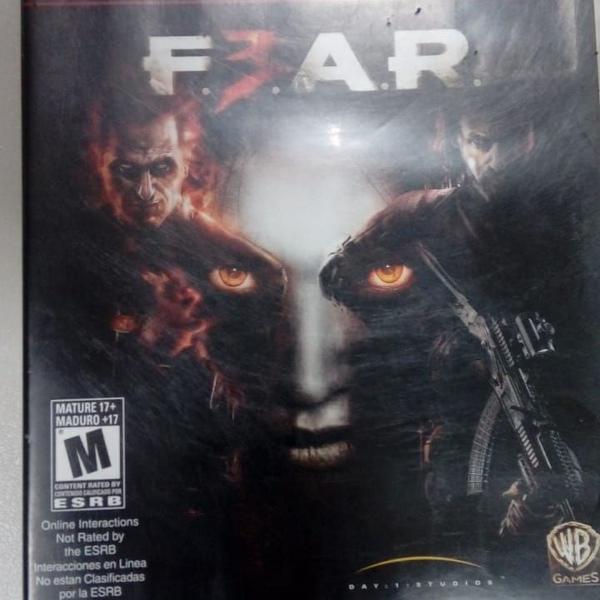 Games jogos usados play 3 ps3 fear 3