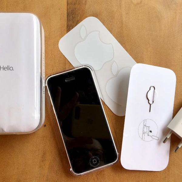 Iphone 5c branco 8gb