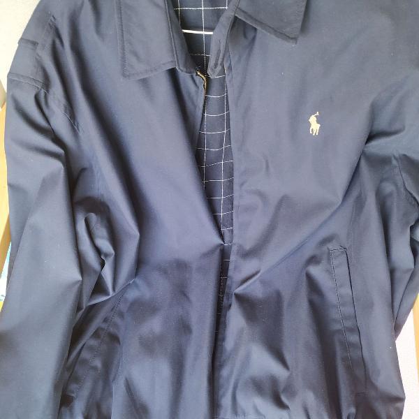 Jaqueta azul marinho polo ralph lauren