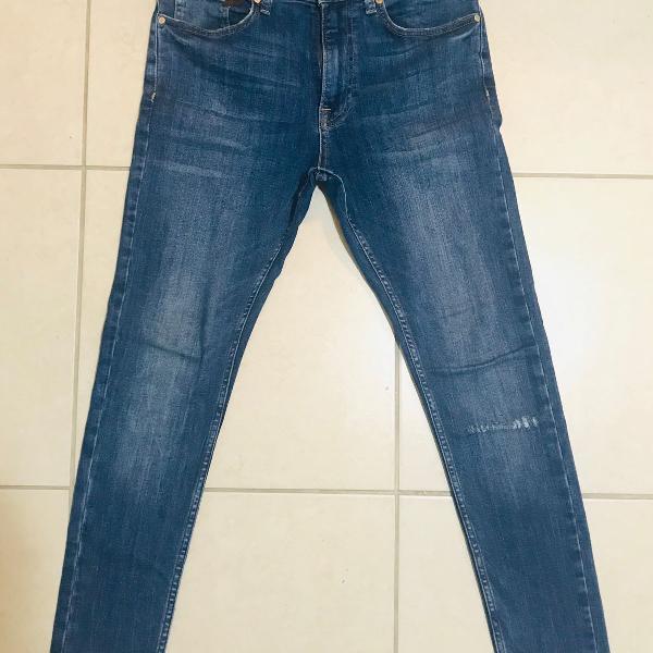 Jeans skinny azul zara 38