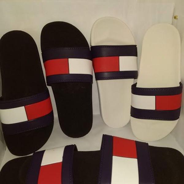 Tommy hilfiger chinelo slide sandália