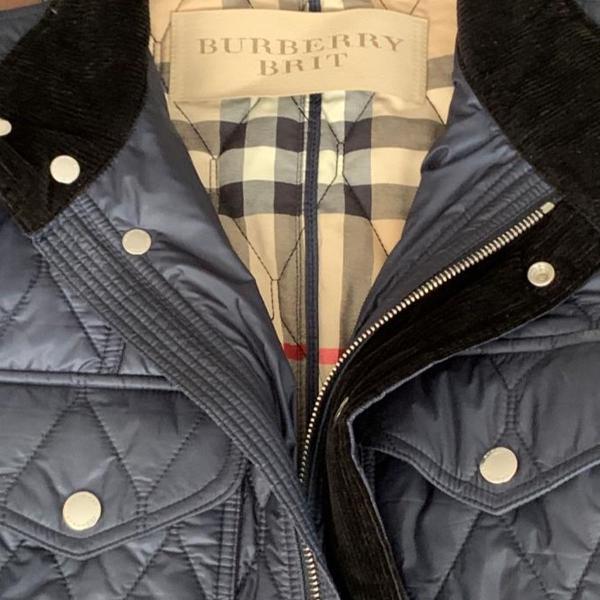 Vendo casaco novo original burberry !