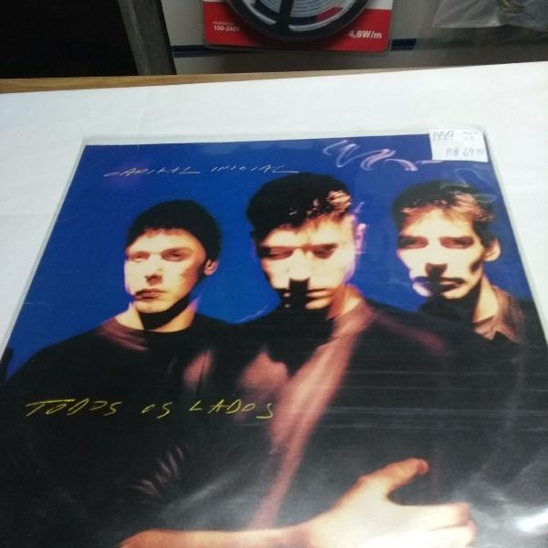 Capital inicial disco de vinil, lp todos os lados, 1989
