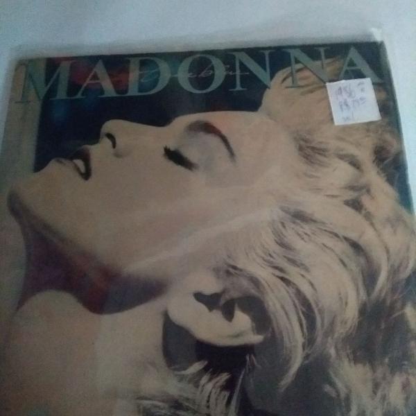 Madonna disco de vinil, lp true blue, 1986