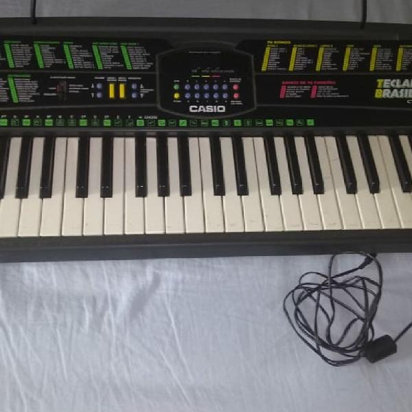 Teclado musical casio ctk-350eb