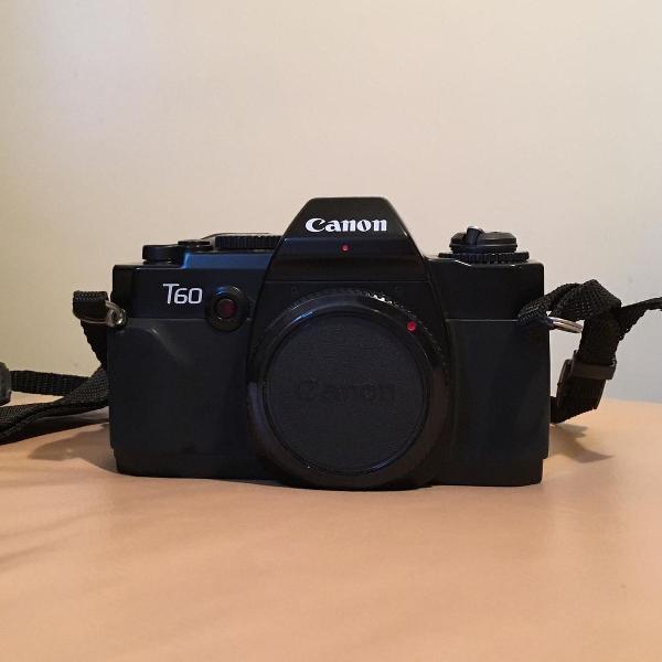 Câmera canon t60