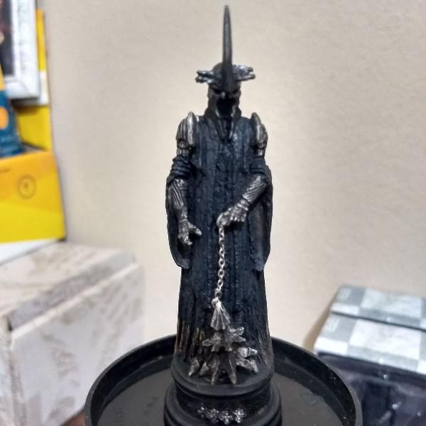 Witch king of angmar - senhor dos anéis xadrez - eaglemoss