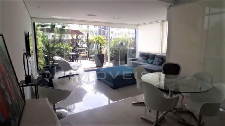 Apartamento para locação - mobiliado no itaim bibi