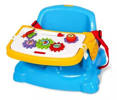 Cadeirinha alimentação bebê portátil didática 2