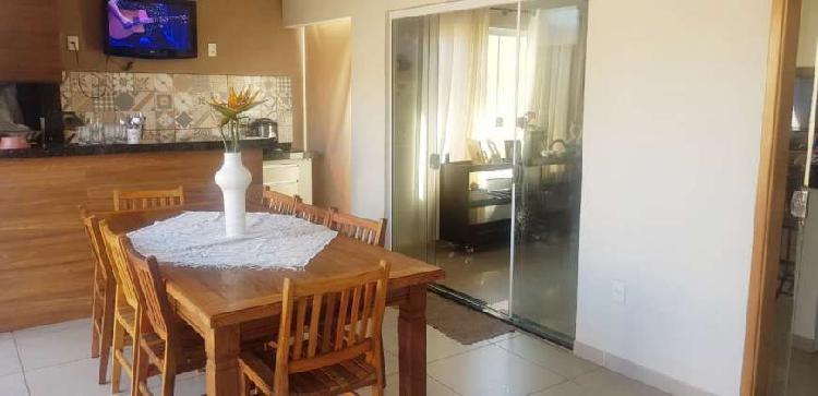 Casa com 3 dorm, 1 suite, nova fino acabamento c/170m.