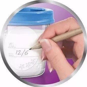 Copos para armazenamento de leite materno philips avent
