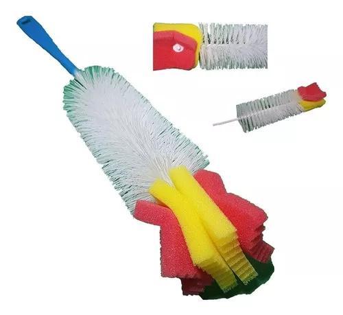 Escova para mamadeira garrafa c/ espuma esponja copo taças