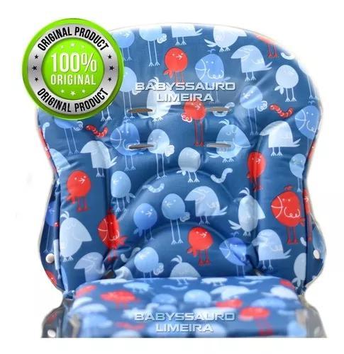 Estofado forro capa merenda passarinho azul burigotto 8000