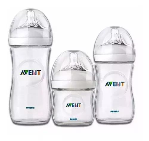 Kit 03 Pcs Mamadeira Petala 125/260/330ml Philips Avent