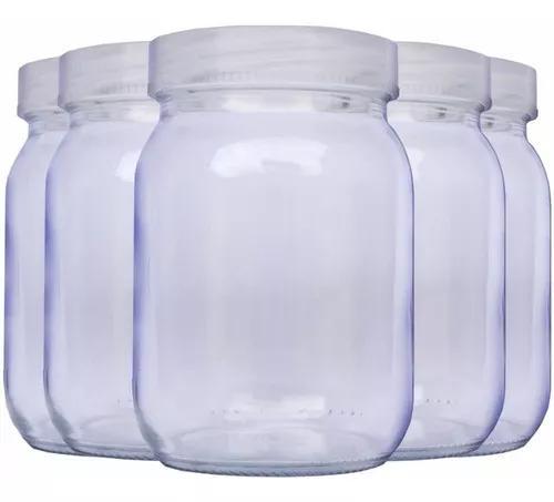 Kit 5 potes armazenar leite materno