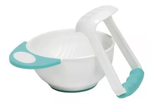 Kit amassador para papinha para bebê azul (0m+) buba 09794
