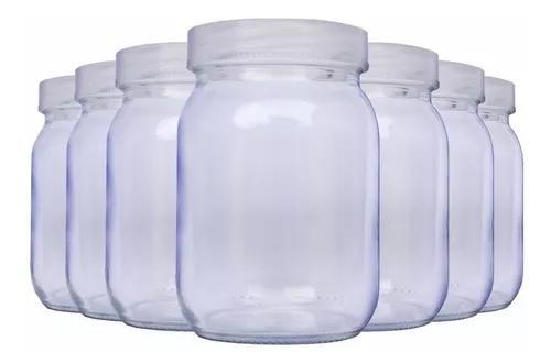 Kit com 10 potes para armazenar leite materno - 200ml