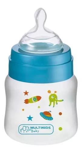 Mamadeira boys e girls azul ortonatural multikids baby