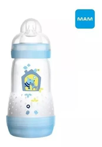 Mamadeira first bottle mam - 260ml boys