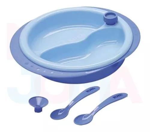 Prato térmico infantil - kuka baby rosa ou azul (1 unidade)