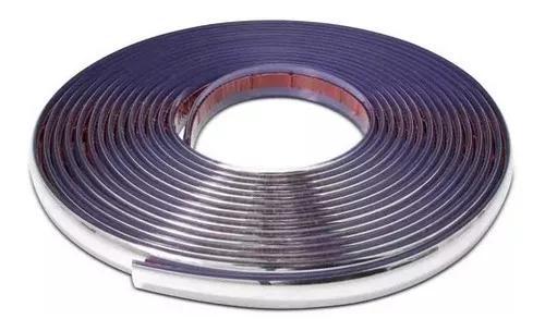 Friso 20mm cromado para-choque grade porta universal rolo 7m