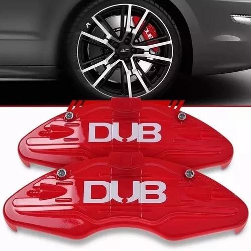 Jogo 04 capas pinça de freio cores diversas dub esportiva