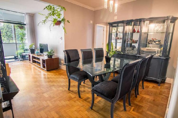 Santa cecília - 2 dormitorios - 1 suíte - 1 varanda.