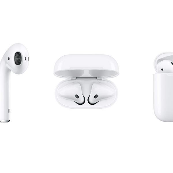 Airpods apple   1ª geração   em ótimo estado!   caixa
