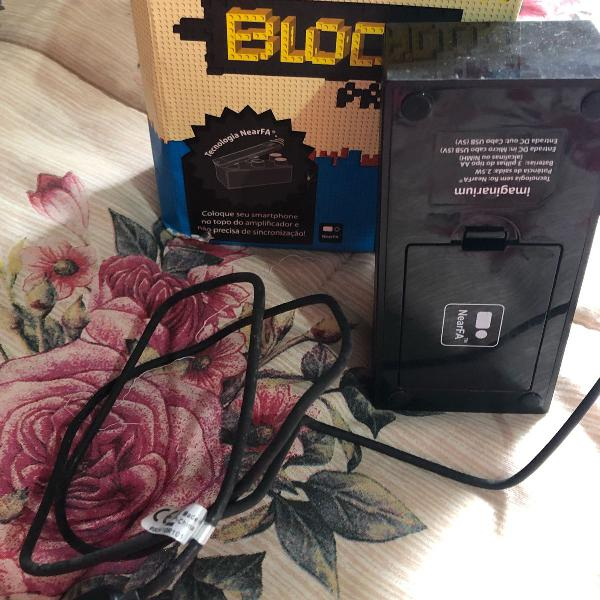 Caixa de som amplificador
