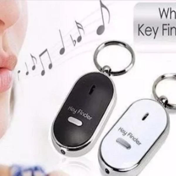 Chaveiro anti perda key finder localizador de chaves assovio