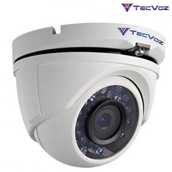 Câmera dome hd-tvi ir 20m 1.0 l 2.8 tdm1028 - tecvoz