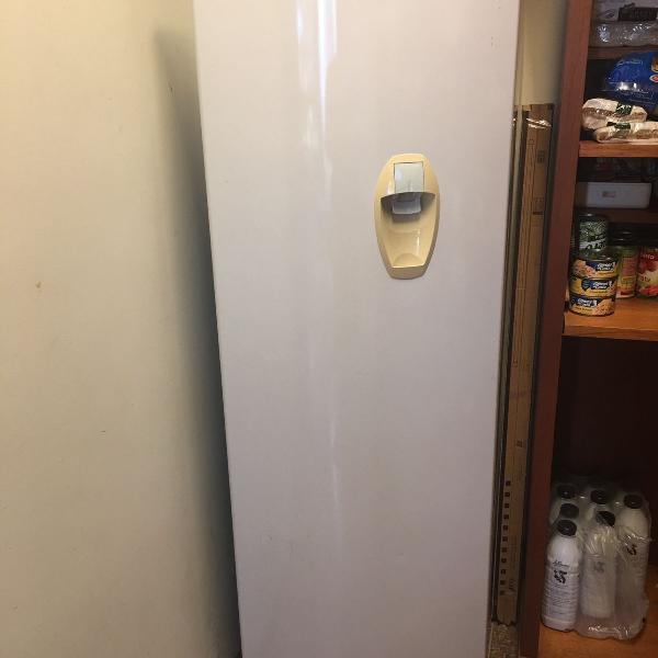Geladeira consul 280 l com dispenser na porta