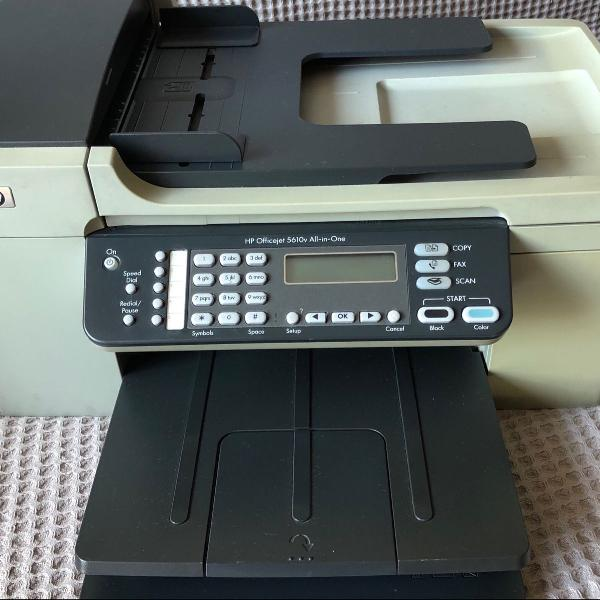 Impressora multifuncional hp officejet 5610v