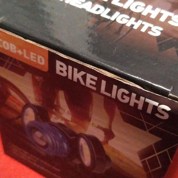 Lanterna de cabeça ou bike