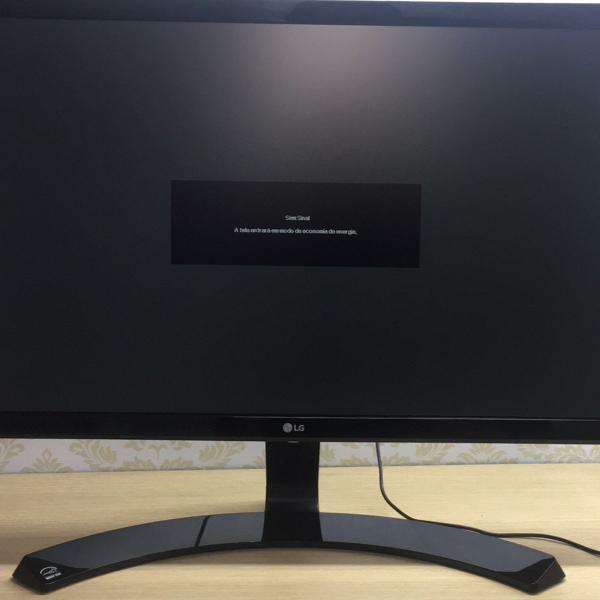 Monitor lg 22 polegadas, modelo 22mp58vq