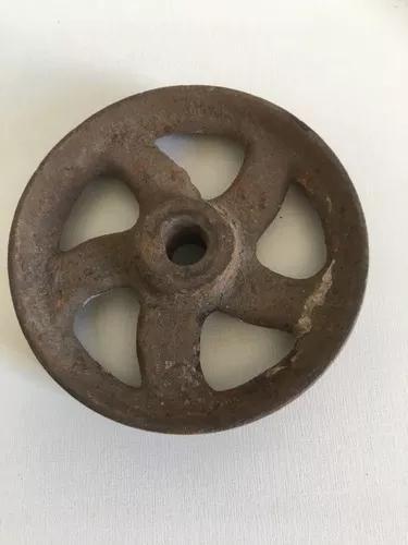 Antigas e raríssimas rodas de ferro para balanças pendulo