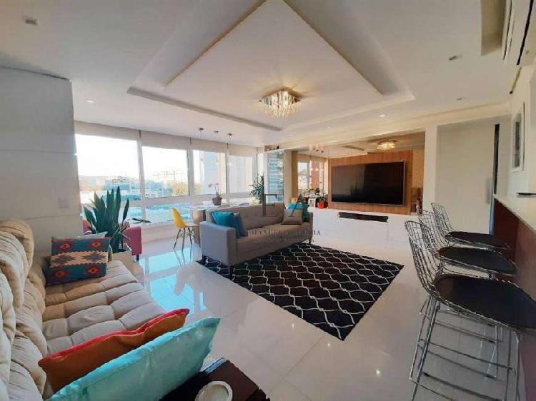 Apartamento com 3 dormitórios à venda, 105 m² por r$