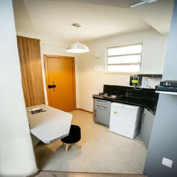 Apartamento para venda possui 22 metros quadrados em